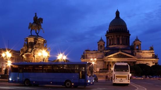 Автобусные экскурсии по Санкт-Петербургу