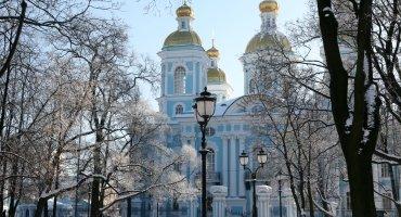 Храмы и соборы Санкт-Петербурга на автобусе