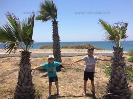Перволия, Кипр - на отдыхе с детьми